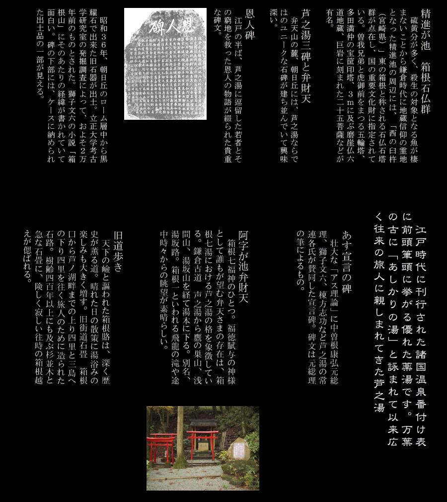 芦の湯界隈図